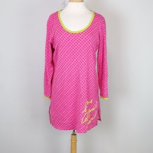 Victoria's Secret Long Sleeved Night Gown Size M